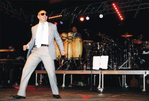 RETURN TO NEAHWA: OH-Fest 6 headliner, Pitbull, plays to a crowd of 9,000 students and community members, the biggest turnout in the festival's history.