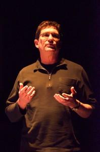 Cort Lippe explains his process. Kei Tanaka