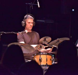 Kei Tanaka Joe Pignato uses his percussion to create experimental sounds