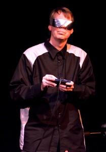 Kei Tanaka Geoffrey O'Shea plays his space-age music at the Hamblin