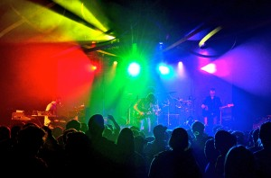 Kei Tanaka Mulit-colored lights helped add to the experience of Dopapod's show