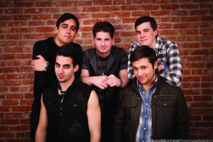 Members clockwise from top left: Joe Frappaolo, Nick Squillante, Kyle Sisco, Nick Juliano, and Rob Farella
