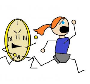Angry Clock