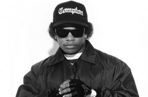 CIRCA 1990: American rapper Eazy-E poses. (Photo by Michael Ochs Archives/Getty Images) *** Local Caption *** Eazy-E