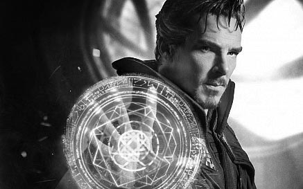 Benedict Cumberbatch as Stephen Strange. Photo credit: screenrant