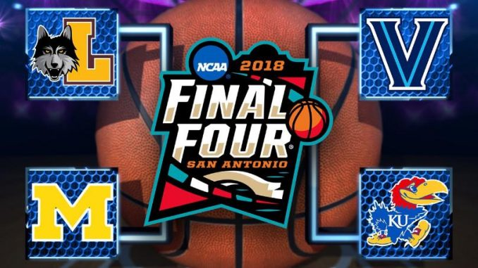 1 seeds Kansas, Villanova meet in national semifinal