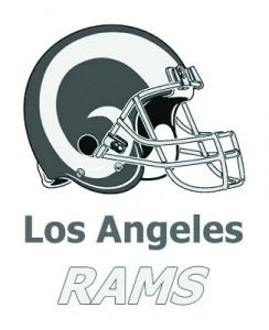 la_rams logogray