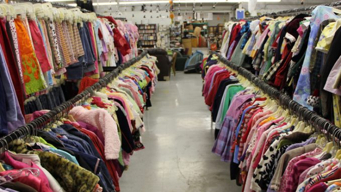A fashion revolution secondhand clothing the state times for Kuchenmobel second hand